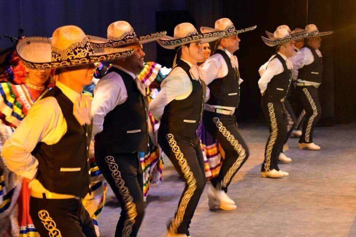 Meksikanska muzika i ples marijaca.