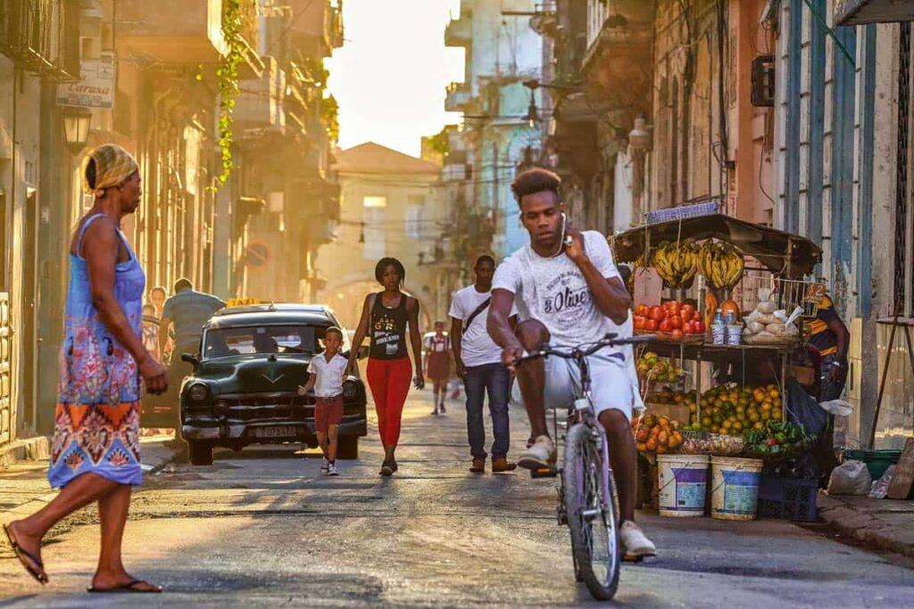 karipske destinacije i ulica na Kubi